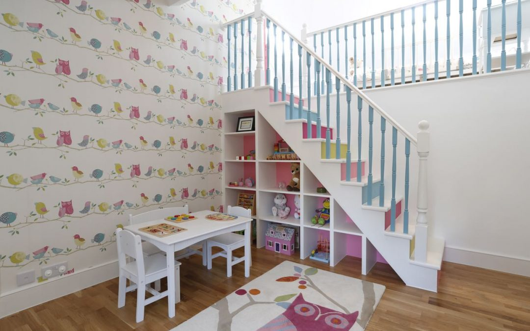 Children's Bedrooms and Nurseries – happy and fun, practical and useful