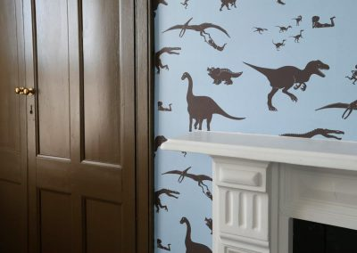 Battersea SW11 - Bed dinosaur detail fix