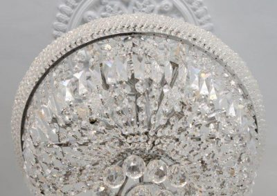 Battersea SW11 - M Bed Chandelier detail