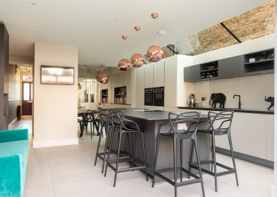 kitchen design, battersea SW11, interior design
